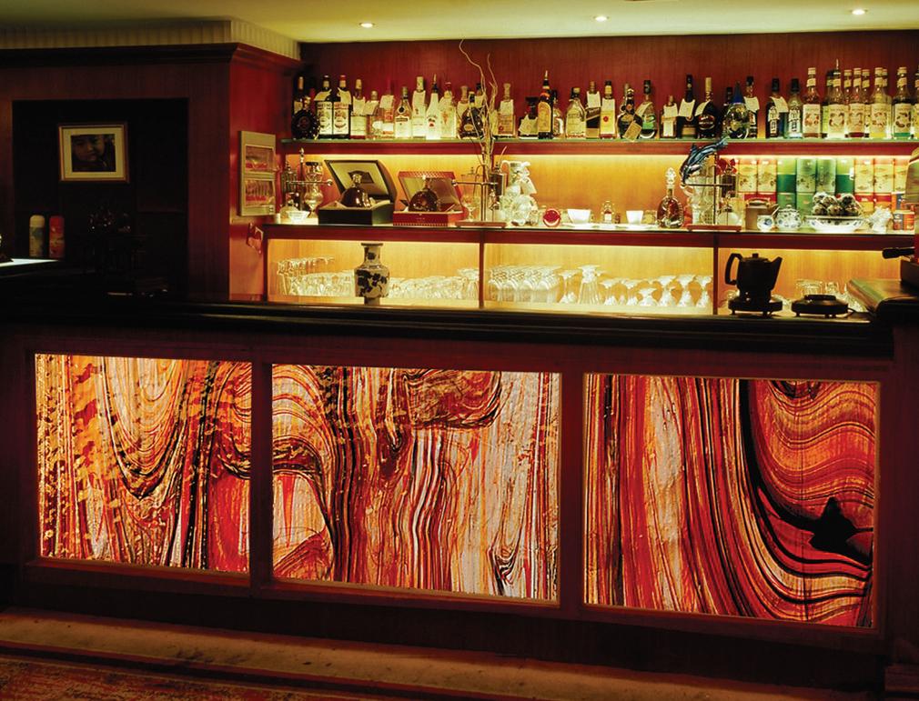 Liuli Glass Panel