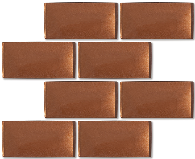 Copper Subway Tile Gallery Modern Flooring Pattern Texture